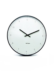 Salt&Pepper Zone Elio Clock White Metal 53.5cm