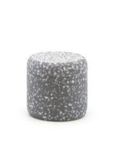 Salt&Pepper Suds Venice Canister Grey 10x10cm