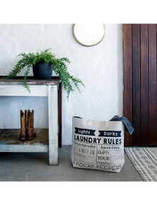 Bambury Laundry Rules Laundry Bag