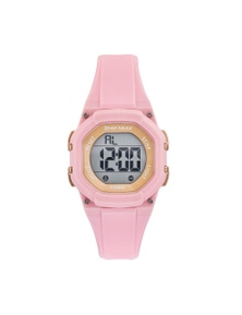 Maxum You Right Pink Rose Digital Watch