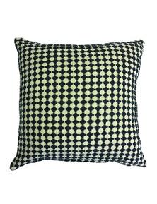 Avalon Indigo-Oatmeal Cushion