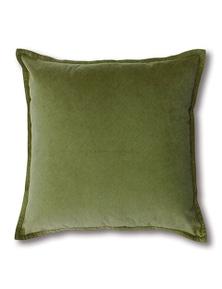 Mira Velvet Leaf Cushion