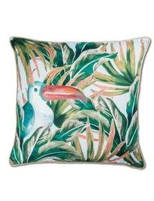 Toco Blue-Orange Cushion