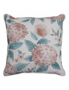 Hydrangea Blush Cushion