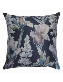 Iris Blue-Violet Cushion