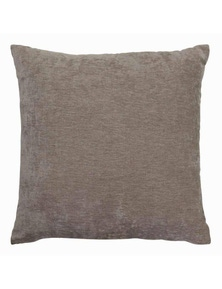 Brooklyn Chenille Silver Cushion