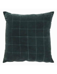 Selby Teal Velvet Cushion