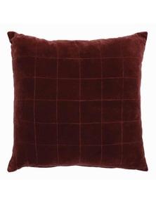 Selby Red Velvet Cushion