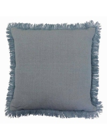 Barwon Light Blue Linen Cushion