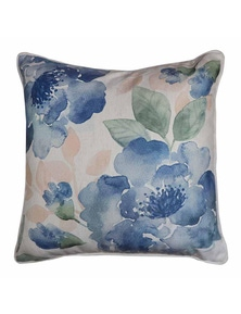 Gardenia Blue-Green Cushion