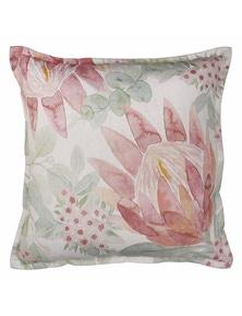 Protea Bouquet Rust Cushion