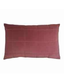 Seattle Shiraz Velvet Lumbar Breakfast Cushion