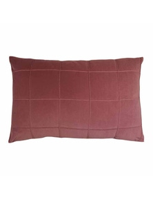 Seattle Shiraz Velvet Lumbar Breakfast Cushion