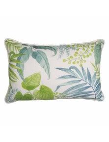 Botanica Aqua-Green Lumbar Breakfast Cushion
