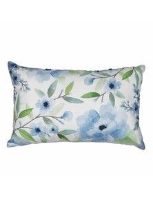 Chinoiserie Embroidery Lumbar Breakfast Cushion