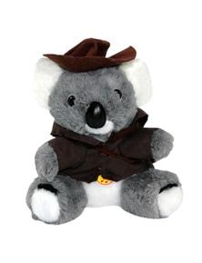 Jumbuck 16cm Koala Swagman w/ Music