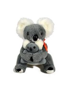 Jumbuck 28cm Koala Mother w/ Baby