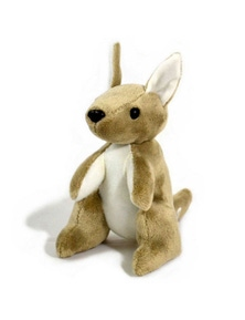 Jumbuck 16cm Kangaroo Plush - No Flag