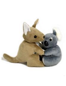 Jumbuck 16cm Hugging Koala/Kangaroo