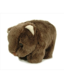 Jumbuck Wombat Plush Brown
