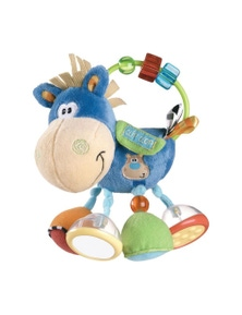 Playgro Clip Clop Activity Rattle Baby Teether 3M+