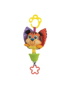 Playgro Musical Pullstring Tiger Baby Activity Toy 0M+