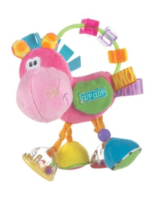 Playgro Clopette Activity Rattle Baby Teether 3M+