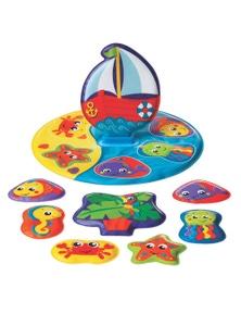 Playgro Floaty Boat Bath Puzzle Baby Bath Toy 6M+