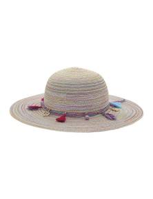 Black Ice Kids Carmen Hat - Rainbow