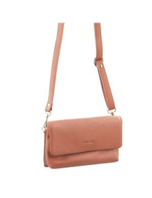 Pierre Cardin Italian Leather Cross-Body Bag/Clutch With Front Zpi Pocket