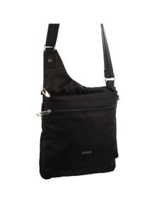 Pierre Cardin Nylon Slash-Proof Front Zip Cross-Body Bag