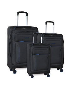 Pierre Cardin Soft Luggage Case- 3 Set