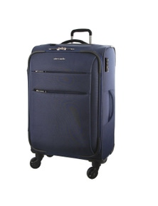 Pierre Cardin 71cm Large Double Zip Soft Luggage Case