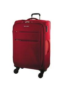 Pierre Cardin 71cm Large Double Zip Soft Luggage Case