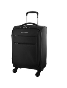 Pierre Cardin 48cm Cabin Double Zip Soft Luggage Case