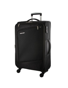 Pierre Cardin 71cm Large Cross Zip Soft Luggage Case