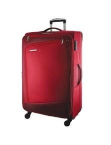 Pierre Cardin 71cm Large Cross Zip Soft Luggage Case