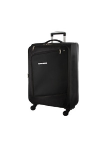 Pierre Cardin 48cm Cabin Cross Zip Soft Luggage Case