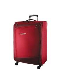 Pierre Cardin 48cm Cabin Cross Zip Soft Luggage Case