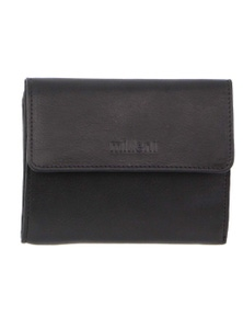 Milleni Ladies Leather Tri-Fold Wallet