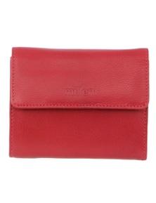 Milleni Ladies Leather Tri-Fold Wallet