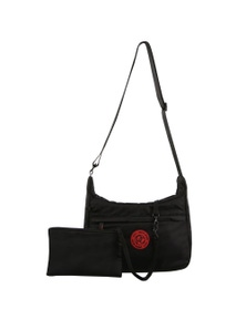 Pierre Cardin Nylon Travel Crossbody Bag