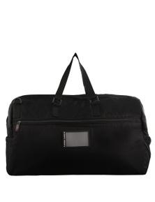 Pierre Cardin Urban Nylon Duffle Bag Travel Gym Bag Duffel Overnight - Black