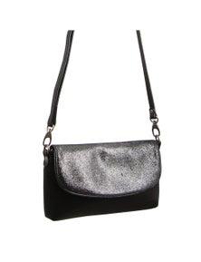 Pierre Cardin Italian Leather Evening With Flap Bag/Clutch