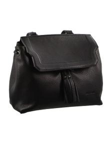 Pierre Cardin Italian Leather Ladies Drawstring Backpack