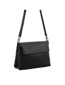 Pierre Cardin Italian Leather Cross Body Bag/Clutch with Flap Front