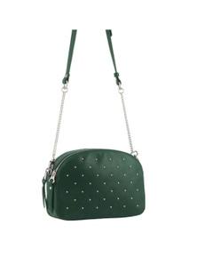 Pierre Cardin Italian Leather Cross-Body Bag/Clutch With Chain