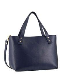 Pierre Cardin Italian Leather Tote Handbag