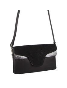 Pierre Cardin Italian Leather Cross-Body Bag/Clutch