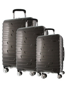 Pierre Cardin Hard Shell Suitcases - Set of 3